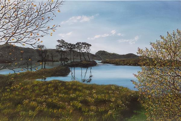 Loch Assynt 2 by Hazel Thomson