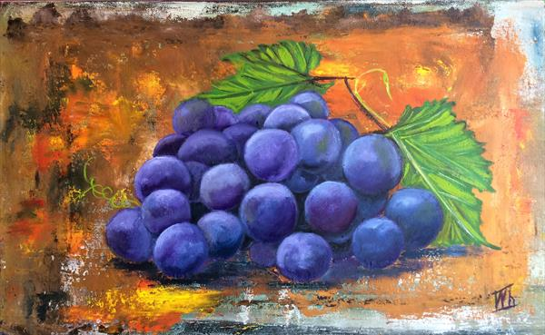 Bunch of grapes by Ira Whittaker
