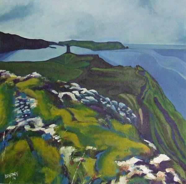 Bradda Head by Bryony Harrison