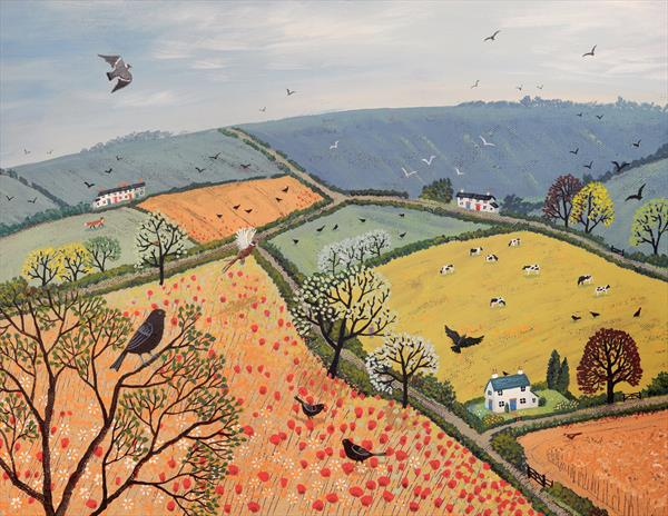 The View From Poppy Hill by Josephine Grundy