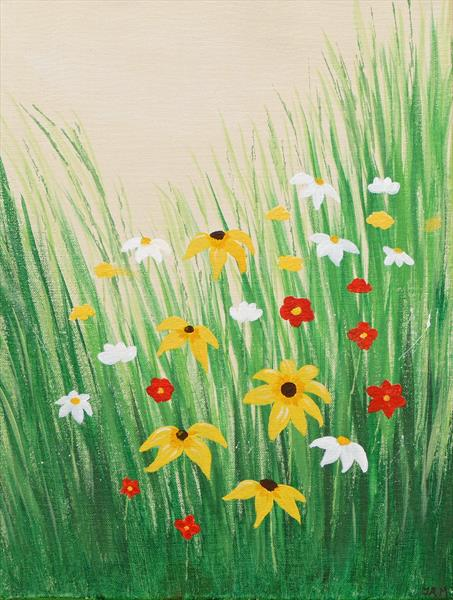 Early Summer Flowers by Jacqueline Moore