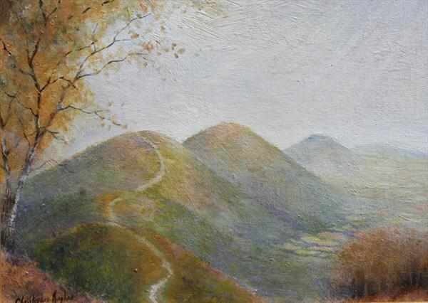 Peak to Peak.On the Malverns by Christopher Hughes
