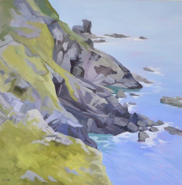 Hells Mouth Rocks by Dawn Harries