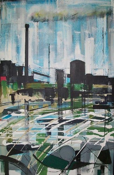 Steelworks Port Talbot 2 by Tom Tomos