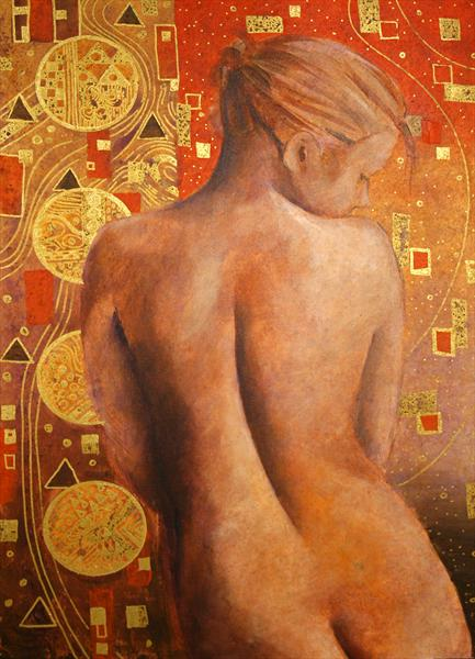 Klimt & the Cellist by Joe Hendry