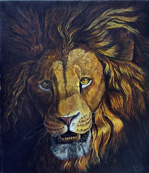 Golden Lion by Gary Wakeham