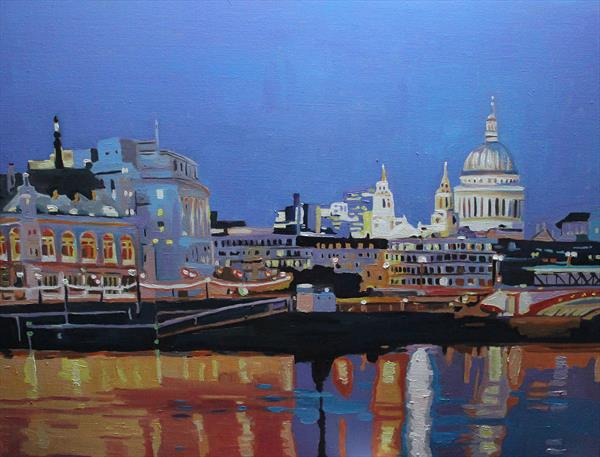 Towards St Pauls by Emma Cownie