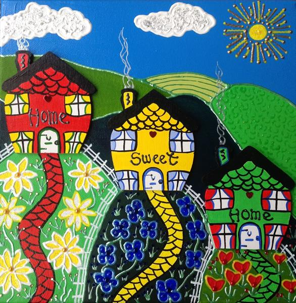Homes In The Countryside  by Julie Stevenson