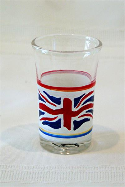 shot / dessert glass - Union Jack by Andre Dluhos
