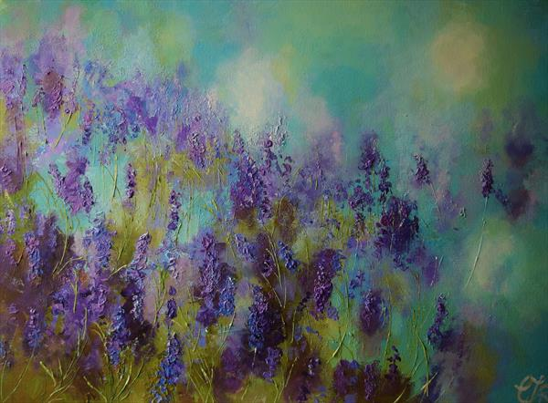 A Memory of lavender by Colette Baumback