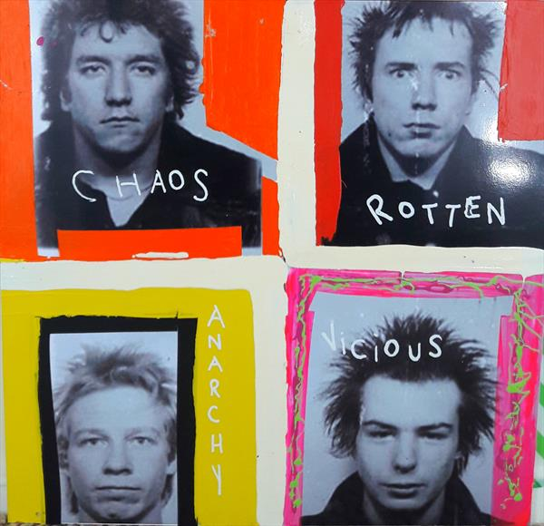 SEX PISTOLS - MUGSHOTS by JOE HENRY
