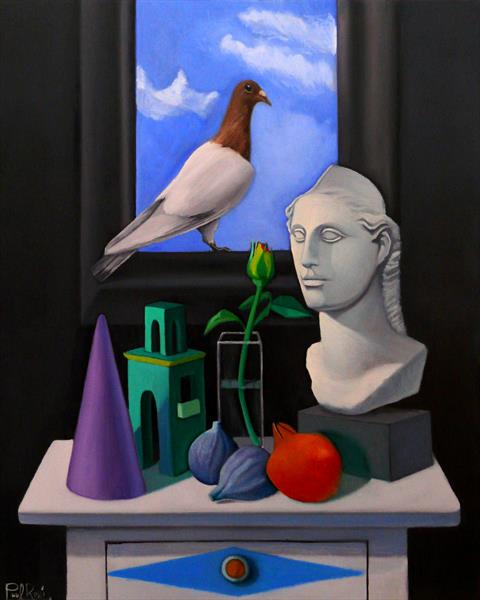 Metaphysical Still-Life I by Paul Underwood