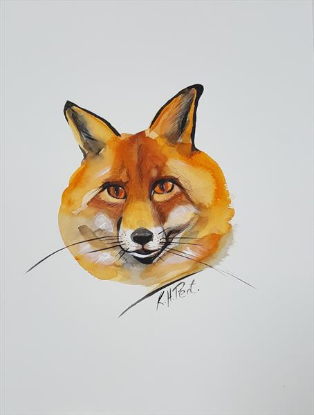 'Fox' by Kat  Herrgott-Penter