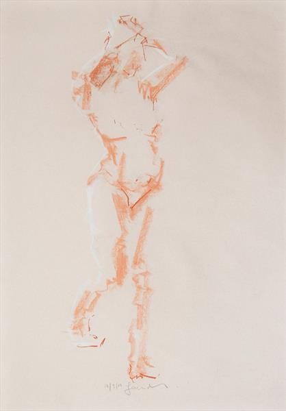 Nude Study of the Female Figure No 385 by Ian Mckay