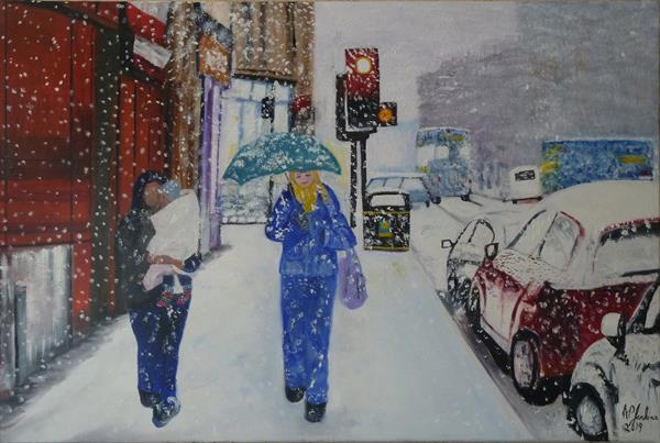 Snowing by Alice P Jenkins
