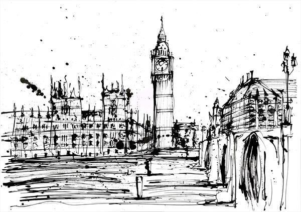 London ink by Keith Mcbride
