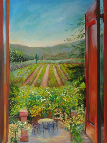 View from a Window by Maureen Greenwood