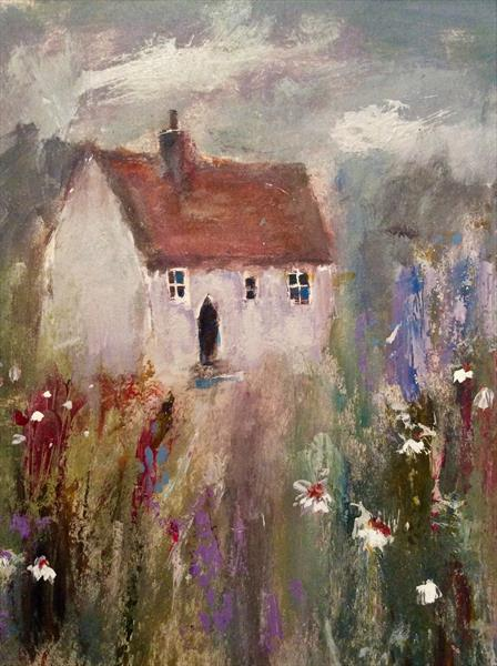 BLUE BELL COTTAGE  by Roma Mountjoy