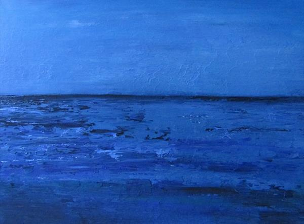 Blue Horizon II by Pauline Thomas