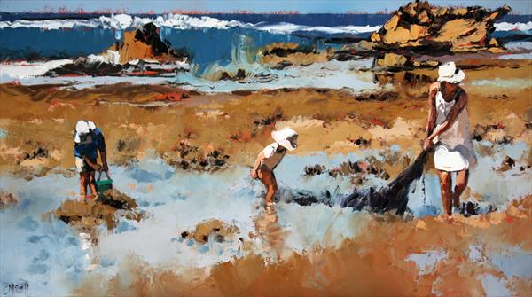 Rockpool Treasures II by Claire McCall