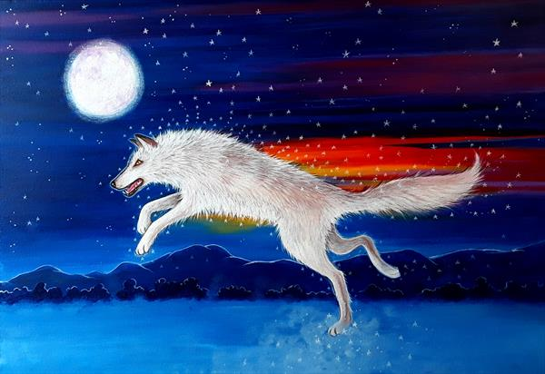 Wolf Spirit by Angie Livingstone