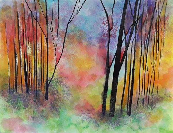 Into The Forest by susan wooler