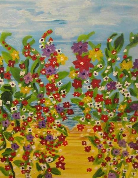 Summer Time Splash by Francoise Booth
