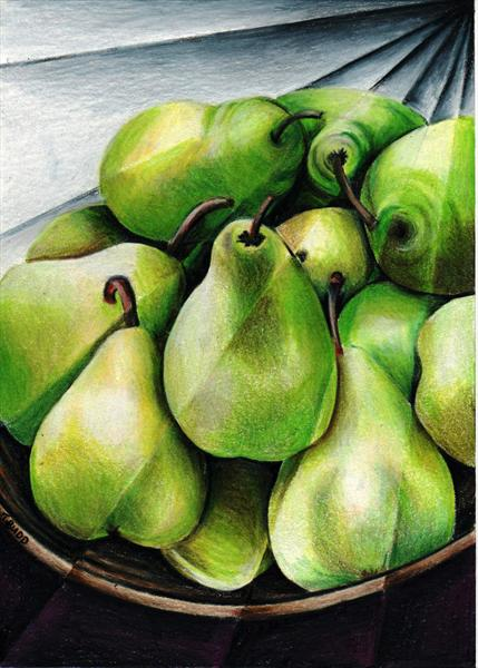 Fractured Pears by Tiffany Budd