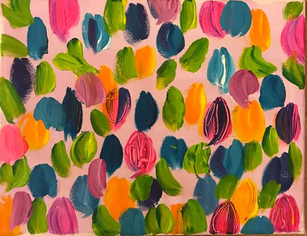 Tulips of love  by louise  montague