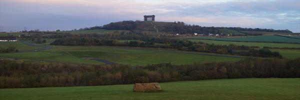 Penshaw Monument by Andrew Shakesby