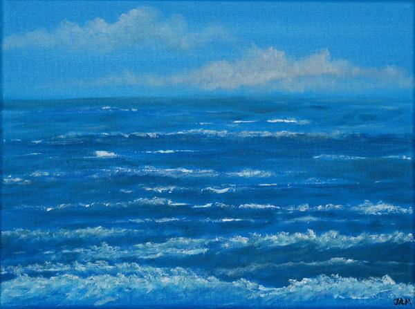 Stormy seas by Jacqueline Moore