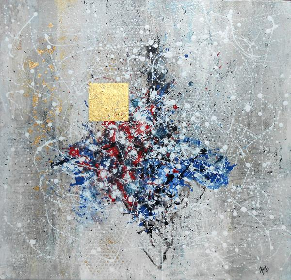 Abstraction With Gold  by Paul Chambers