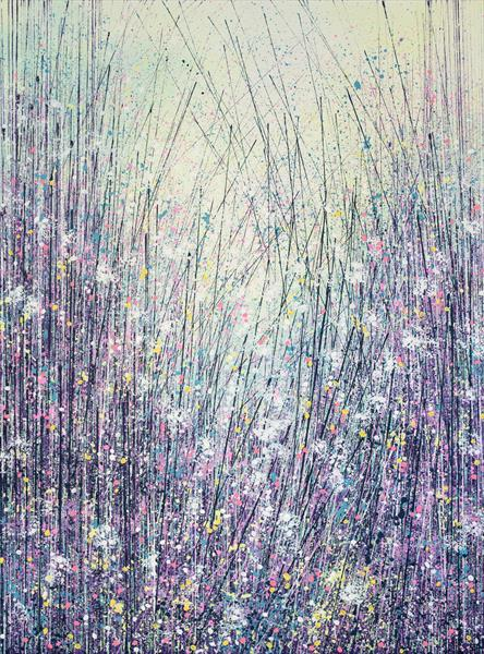 Wild Flowers In Summer Pastel Colours by Marc Todd