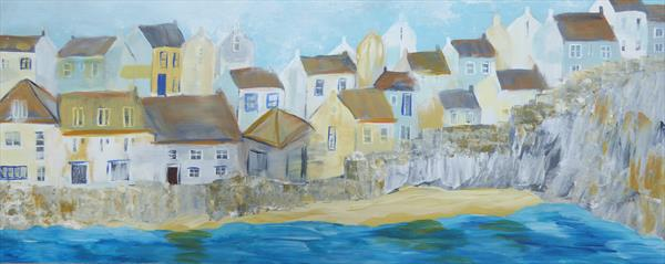Cawsand, Cornwall by Elaine Allender