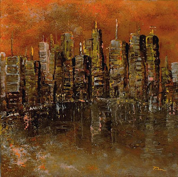 Sunset City by Tracey Unwin