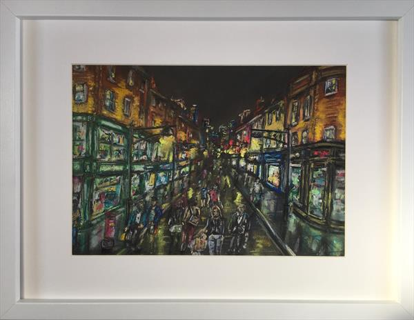 Pedestrian zone  by Damion  Maxwell