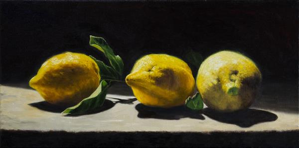 Lemons from Sorrento (III) by Andrew Mcneile Jones