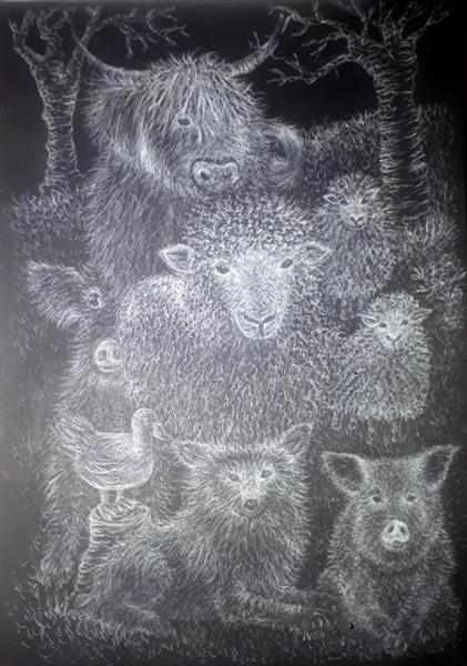It Started With  A Sheep  by Allison Swindell