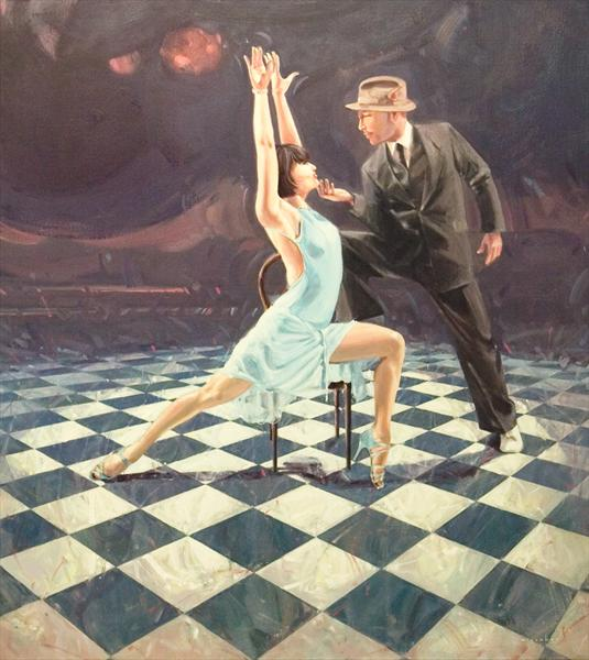 Midnight Tango 1 by Charles Willmott