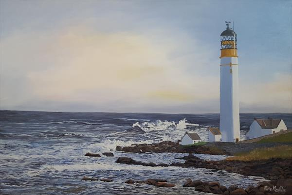Montrose Lighthouse by Eric Meikle