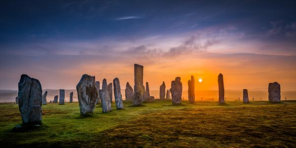Callanish Dawn by Peter  O'Reilly