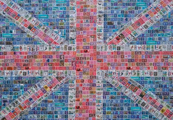 Pre Decimal Union Jack - Commission by Gary Hogben