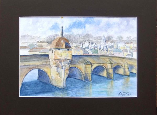 Town Bridge, Bradford on Avon by Barry Toms