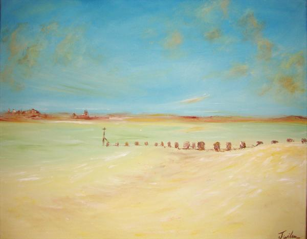 Wittering Beach 1 Contemporary Landscape
