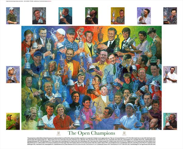 The Open Champions by Dod Dow