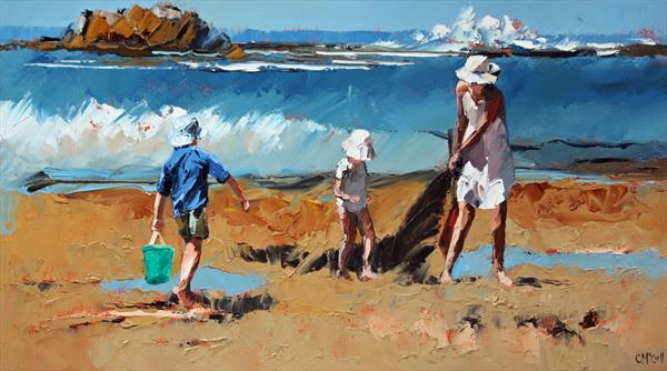 Rockpool Treasures III - Limited Edition Giclee Art Print by Claire McCall