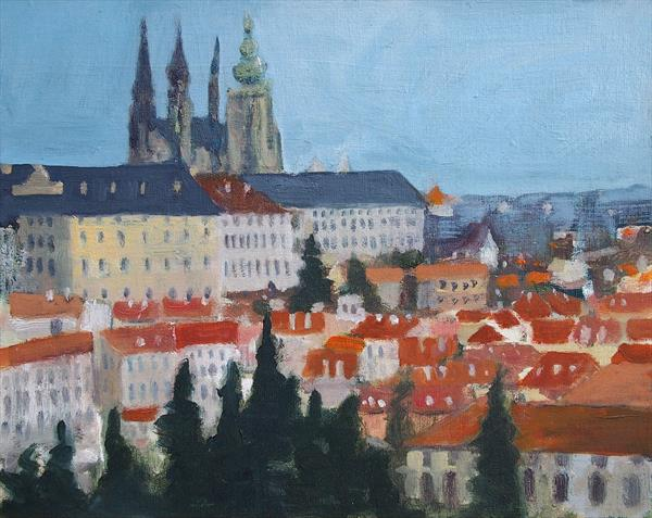 Prague landscape 2 by Michael Parkinson