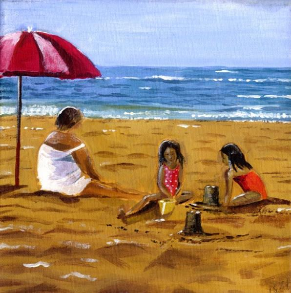 Beach by Louisa Saffioti