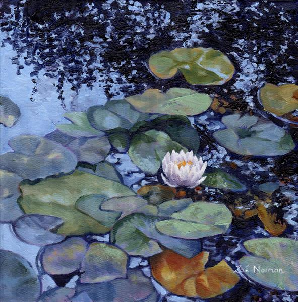 Water Lily at Giverny by Zoe Elizabeth Norman