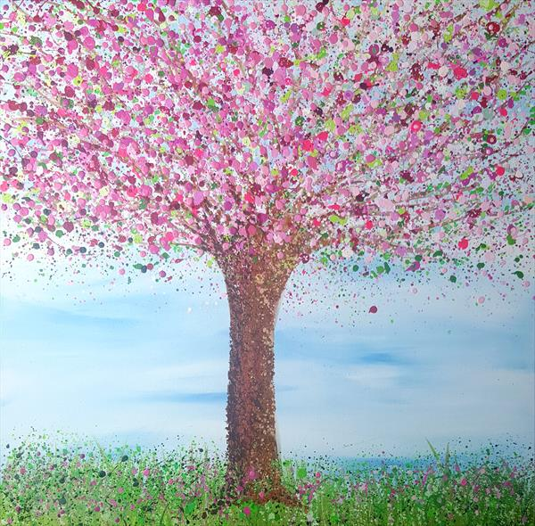 Cherry Blossom - reserved for Julie by Lucy Moore